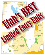 Utah's Best Trophy Mule Deer, Antelope and Elk Units