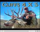 Cliff's 5x4 Muley - Hunt of the Week Episode #13 at MonsterHuntClips.com