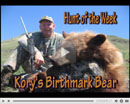 Kory's Sweet Bear - Hunt of the Week Episode #15 at MonsterHuntClips.com