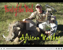 Kregg's African Warthog - Hunt of the Week Episode #19 at MonsterHuntClips.com