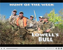 Lowell's Utah Bull Elk - Hunt of the Week Episode #21 at MonsterHuntClips.com