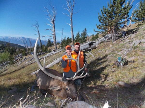 Smokepole Elk Hunt Fun for Brian