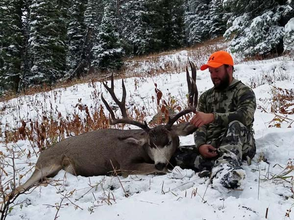 Briant's 5x5 Wyoming High Country Buck