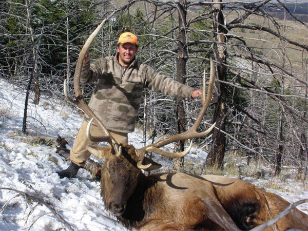 Ted's Great Year of Hunting in Wyoming
