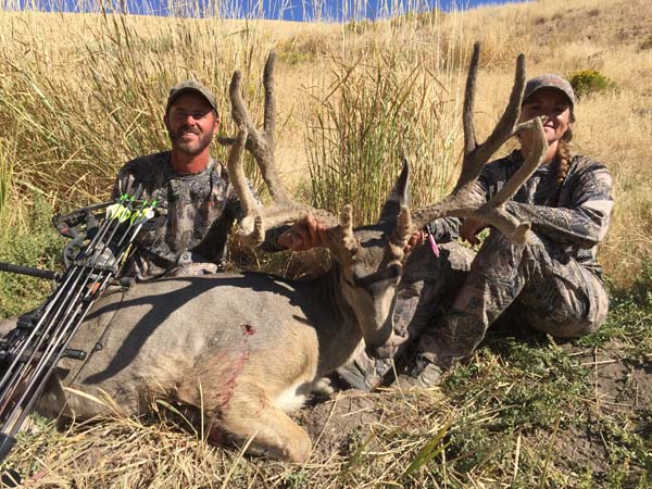 Fantastic Nevada Archery Buck