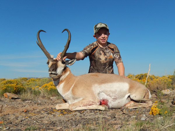 Awesome Pronghorn Trophy for Danny