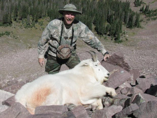 Awesome Mountain Goat Trophy for Mike