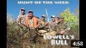Lowell's First Bull Elk - HOTW #21