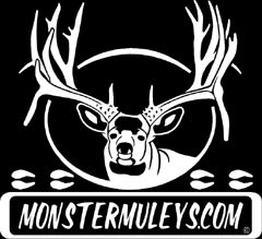 The MonsterMuleys.com Window Decal