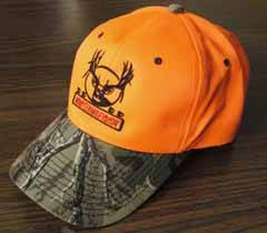Orange MonsterMuleys.com Hat